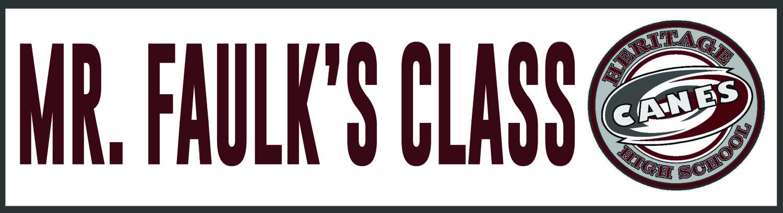 Mr Faulk's Class